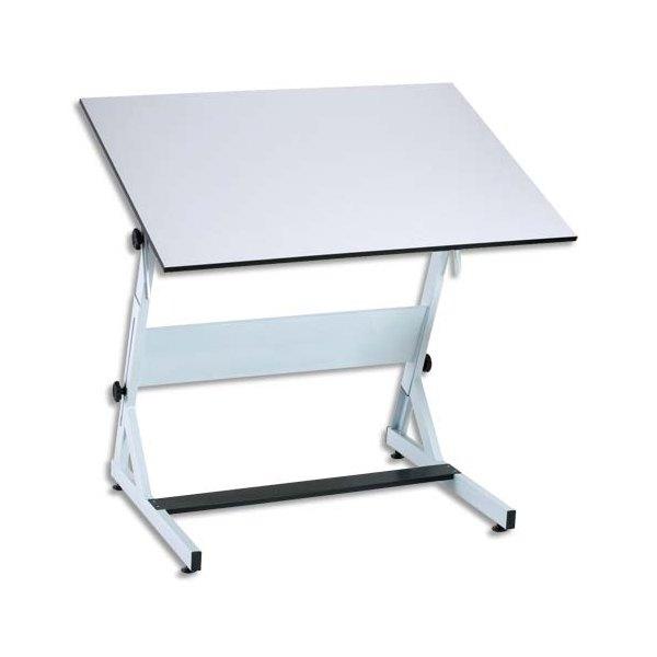 Bieffe table dessin 70 x 100 cm r glage hauteur et for Table hauteur 70 cm