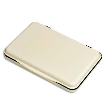 5 ETOILES Tampon encreur réencrable ABS, pour timbre caoutchouc ou résine L11 x P7 cm encre noir