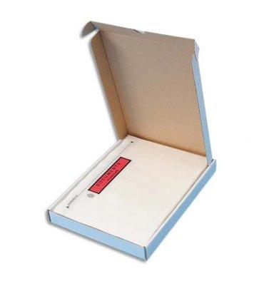 5 ETOILES Boîte de 100 Pochettes d'expédition document ci-inclus - Format C5 : 225 x 165 mm transparent