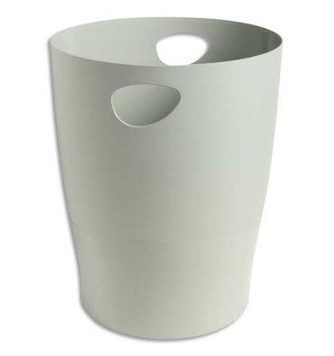5 ETOILES Corbeille à papier 15 L grise