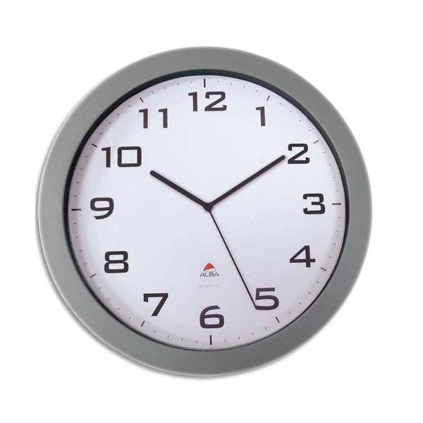 Alba horloge horissimo silencieuse grand format d38 cm m tal for Horloge murale grand format