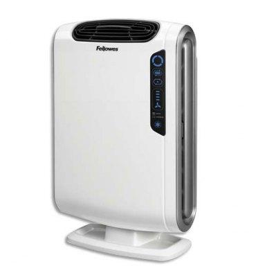 FELLOWES Purificateur d'air AeraMax DX55 pour 18m* - Dimensions : L29 x H58,2 x P38,4 cm coloris blanc