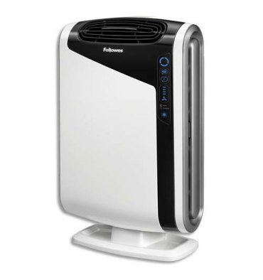 FELLOWES Purificateur d'air AeraMax DX95 pour 28m* - Dimensions : L30,8 x H69,2 x P44,6 cm coloris blanc
