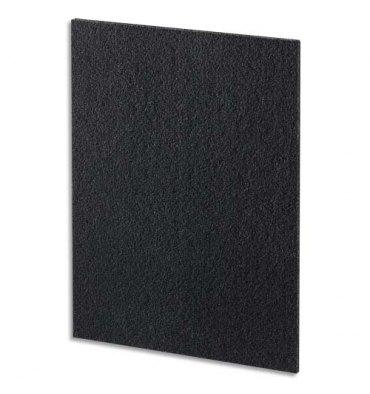 FELLOWES Paquet de 4 Filtres carbone pour purificateur DX95 - Dimensions : L33,2 x H43 x P3,8 cm noir