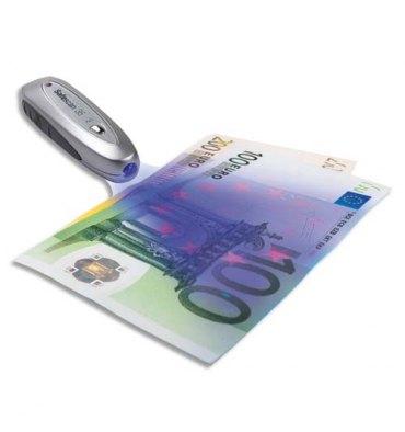 SAFESCAN 35 Détecteur faux billets ultra compact double vérification 10 x 10 cm