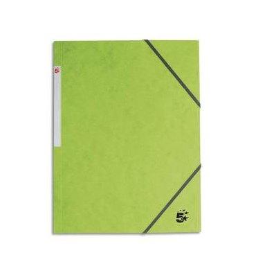 5 ETOILES Chemise 3 rabats et élastique en carte vert clair
