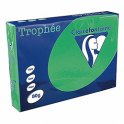 CLAIREFONTAINE Ramette de 500 feuilles papier couleur TROPHEE 80g A4 vert menthe