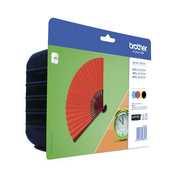 BROTHER Multipack jet d'encre LC129XLVALBP (photo)