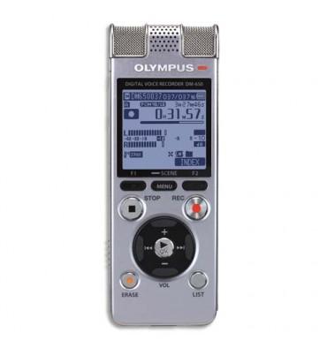 OLYMPUS Machine à dicter DM-650 Noir-N2289921