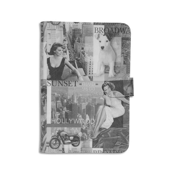 AKASHI Etui pour tablette universelle HOLLYWOOD 7-8'' ALTABUV7103802 (photo)