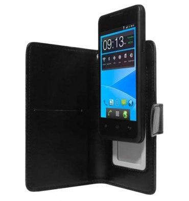 "AKASHI Etui folio universel black smartphone 4"" ALTUVFOBLK4"