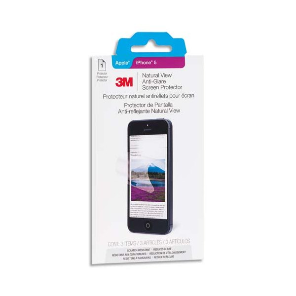 3M Filtre de protection anti reflet mat pour Iphone5/5S/5C 82876 (photo)