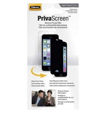 FELLOWES Filtre de confidentialité PrivaScreen pour iPhone 5/5C/5S 4806601