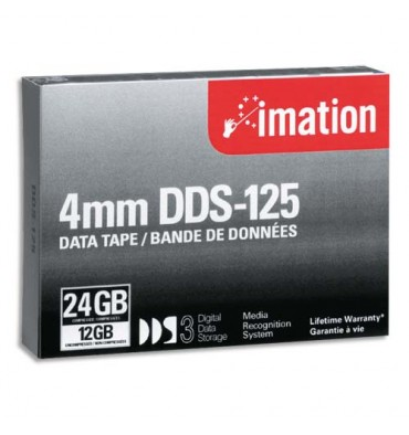 IMATION Cartouche DDS-3 4mm 125m 12/24GB