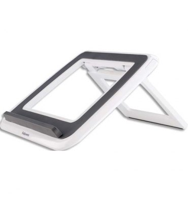 FELLOWES Support ordinateur portable Quick Lift Blanc