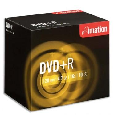 IMATION Tour de 10 DVD+R 4,7GB / 16X +redv