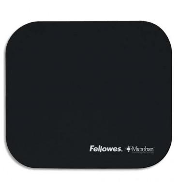 FELLOWES Tapis souris antibactérien noir Microban 5933907