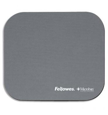 FELLOWES Tapis souris antibactérien gris Microban 5934005