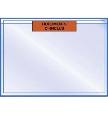 EMBALLAGE Boîte de 1000 pochettes pour documents Ci Inclus format 16 x 22 cm