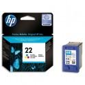 HP Cartouche encre No 22 3COUL C9352AE