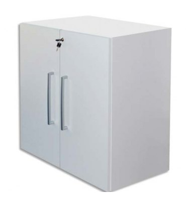 MT INTERNATIONAL Lot de 2 Portes Basses MT1 Elégance pour module - Dim 1 porte L39,7 x H79,5 cm blanc