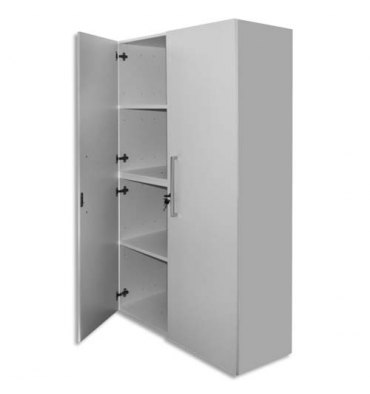 MT INTERNATIONAL Lot de 2 Portes Hautes pour 2 modules MT1 Elégance - Dim 1 porte L39,7 x H159,5 cm blanc