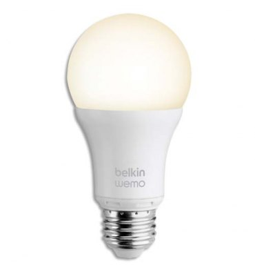 BELKIN Ampoule WeMo LED Smart Light à vis compatible IOS et Android