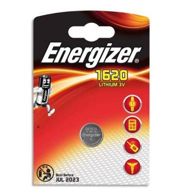 ENERGIZER blister de 1 pile lithium CR1620