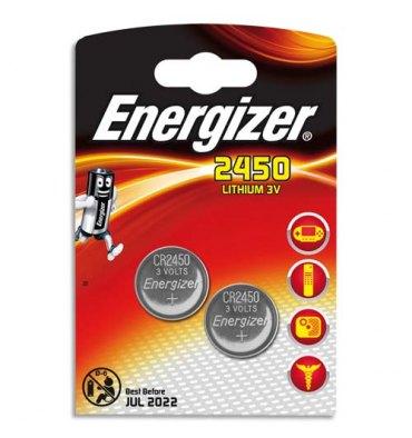 ENERGIZER Blister de 2 piles lithium CR2450