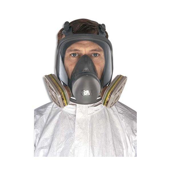 3M Masque complet 678g conforme à la Norme EN136 Classe 1 6800S (photo)