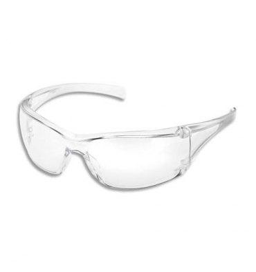 3M Lunette de sécurité Virtua AP incolore marquage oculaire 2C-1,2 UV, anti-rayure, contre éblouissement