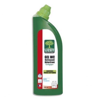 L'ARBRE VERT Gel WC 750 ml sans allergènes Ecolabel, parfum romarin
