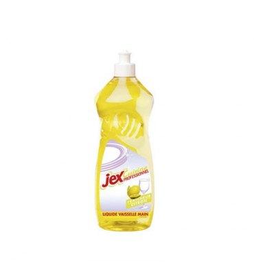 JEX PROFESSIONNEL Flacon d'1 Litre de Liquide vaisselle doux pour les mains parfum citron vert