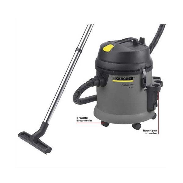 karcher aspirateur eau et poussi re pro nt27 1 1380 watts capacit 24l 72 db. Black Bedroom Furniture Sets. Home Design Ideas