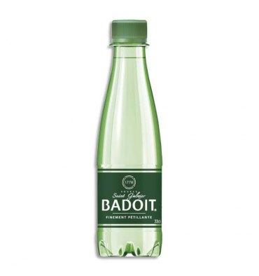 BADOIT Bouteille plastique d'eau pétillante de 33 cl