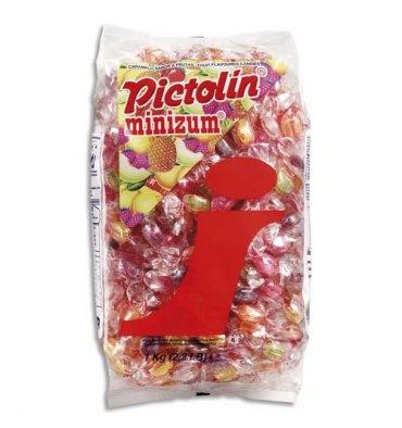 PICTOLIN Minizum Sachet de 1Kg de Bonbons d'accueil parfum Exotique