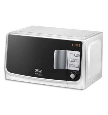 DELONGHI Micro ondes 1050W - 20L blanc