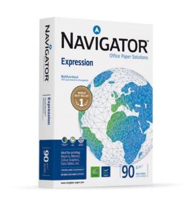 NAVIGATOR Ramette de 500 feuilles papier blanc Navigator Expression A4 90 grammes