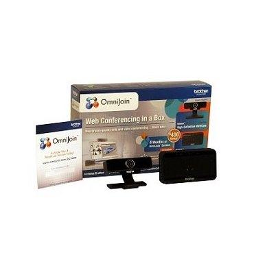BROTHER OMNIJOIN Version Pro 12 mois + Webcam + Haut-parleur BOJP12UF02