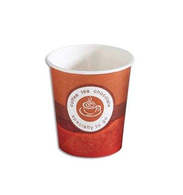 HUHTAMAKI Sachet de 80 gobelets 10 cl café en carton épais