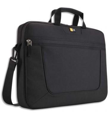 """CASE LOGIC Sacoche classique nylon PC portable de 15"""" à 16,3'' à compartiments noir"""