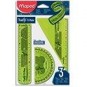 MAPED Kit 3 pièces TWIST 'N FLEX - Coloris assortis