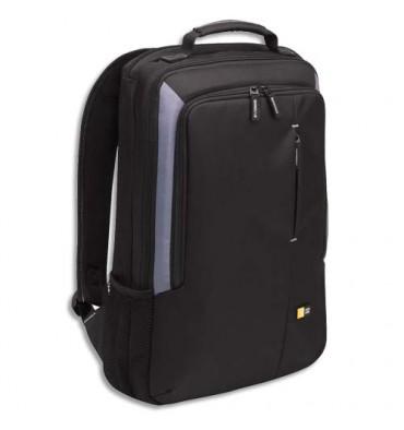 CASE LOGIC Sac à dos Noir Nylon rembourré pour PC portable jusqu'à 17'' - VNB-217