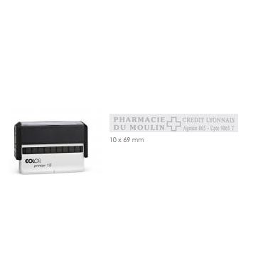 COLOP Tampon long PRINTER 15 - 2 lignes max