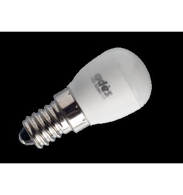 ADES Carton de 10 ampoules LED Tube Frigo dépoli
