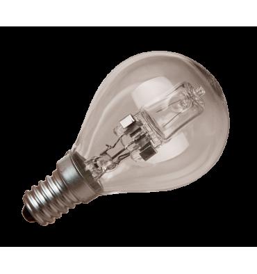 ADES Carton de 10 ampoules Halogène Sphérique 18W E14