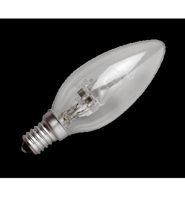 ADES Carton de 10 ampoules Halogène Flamme 18W E14