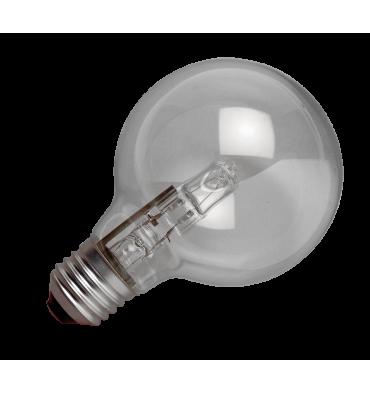 ADES Carton de 10 ampoules Halogène Globe E27 42W
