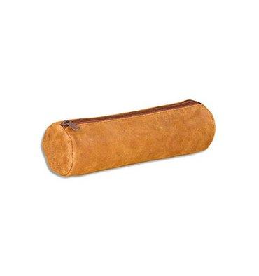 ELBA Fourre-tout rond 22 x 6 x 6 cm - cuir vintage