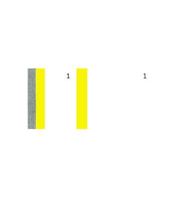 EXACOMPTA 10 blocs vendeur 100 feuillets 60 x 135 mm jaune
